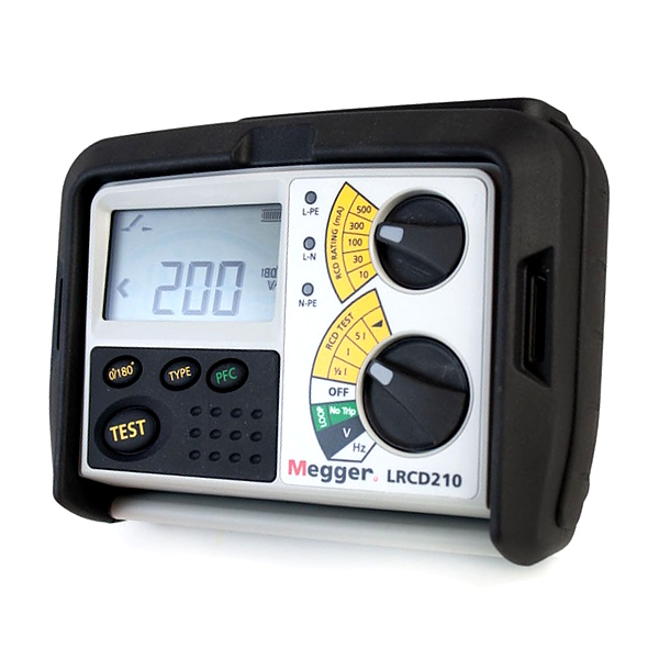 Megger LRCD210 Non-tripping Loop and RCD Tester