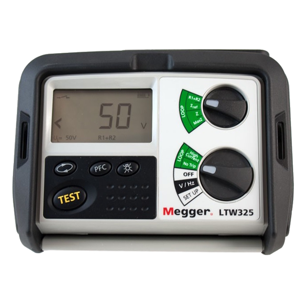 Megger LTW325 Two Wire Non-tripping Loop Tester