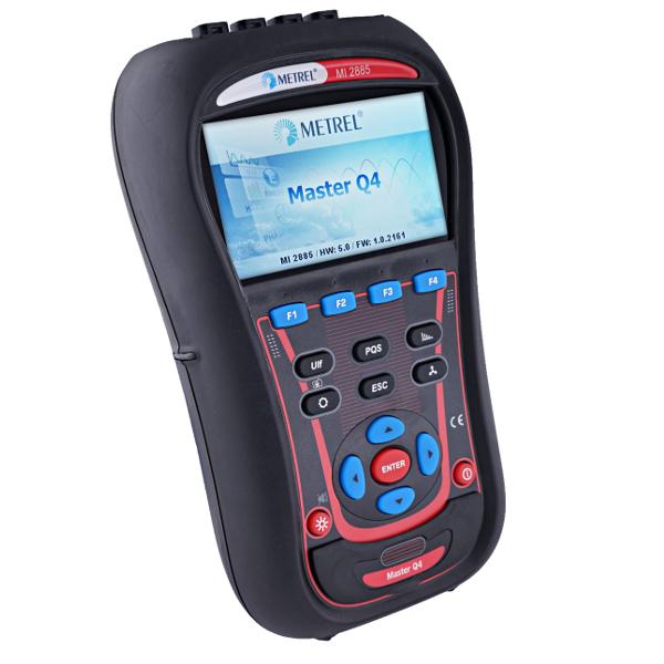 Metrel MI2885 Master Q4 Pro Power Quality Analyser