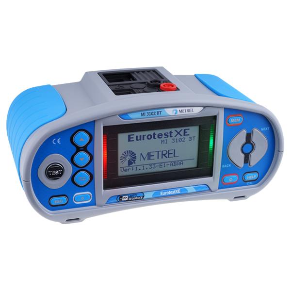 Metrel MI 3102 BT EurotestXC Multifunction Tester - Test Equipment