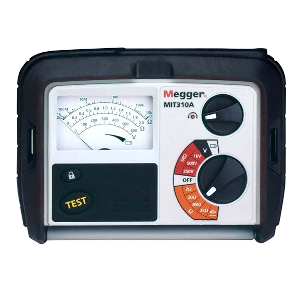 Megger MIT310A Analogue Insulation Tester for Electricians - Test Equipment