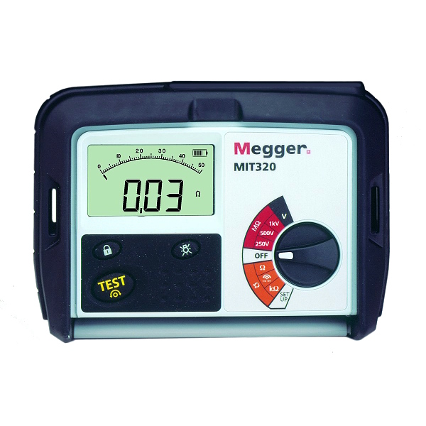 Megger MIT320 Digital Insulation Tester - Test Equipment
