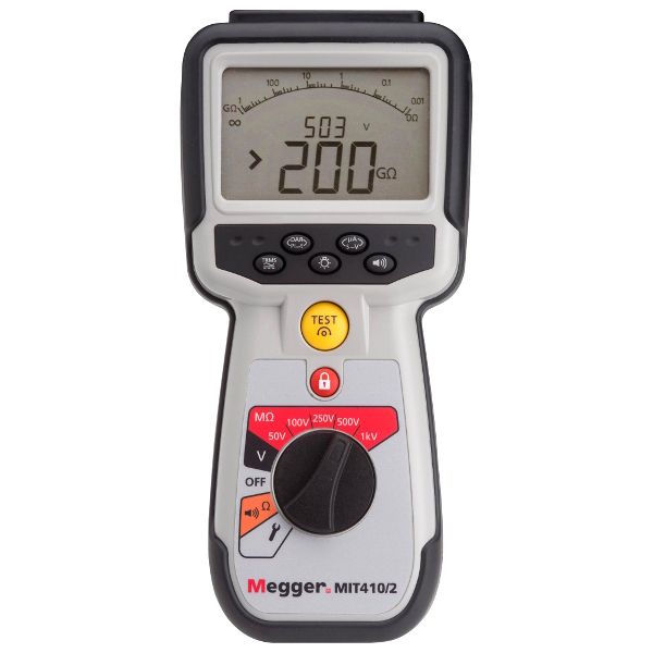 Megger MIT410/2 Industrial Maintenance Insulation and Continuity Tester