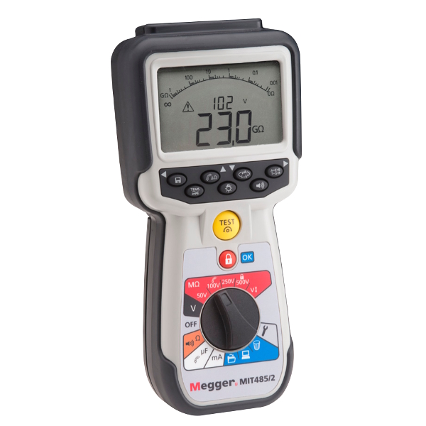 Megger MIT481 Insulation and continuity Tester - Test Equipment