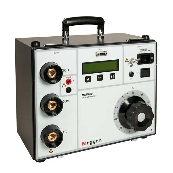 Megger MOM690 Micro-Ohmmeter