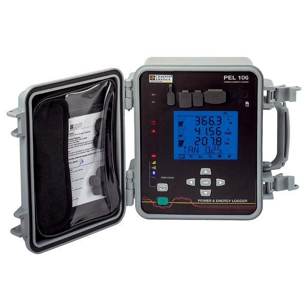 Chauvin Arnoux PEL106 Power Energy Logger w/o Clamps