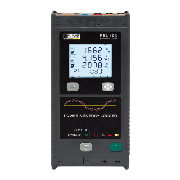 Chauvin Arnoux PEL103 Data Logger Photo