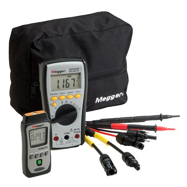 Megger PVK320 Photovoltaic Kit with Multimeter
