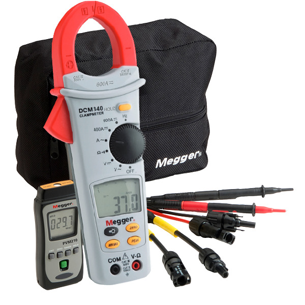 Megger PVK330 Photovoltaic Kit with DC Clamp Multimeter