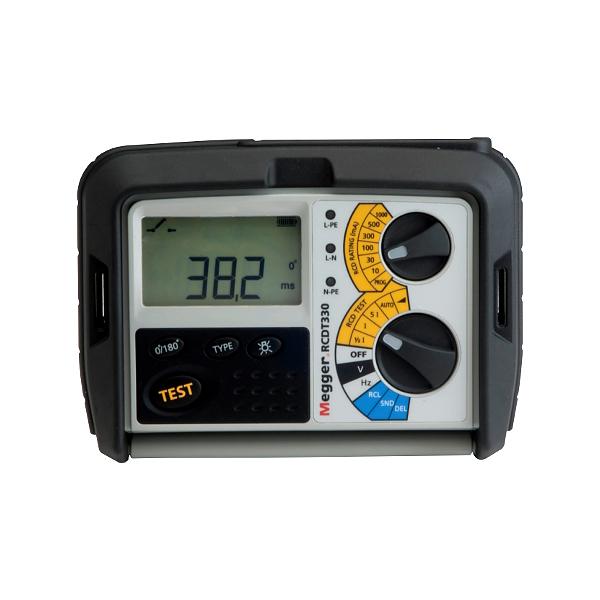 Megger RCDT330 RCD Tester for Electricians - Test Equipment