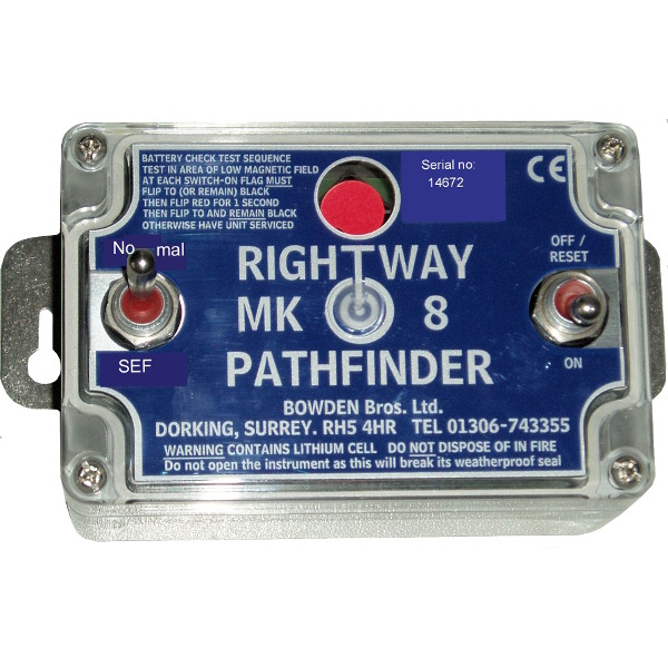 Bowdens MK8 Rightway Pathfinder - Test Equipment