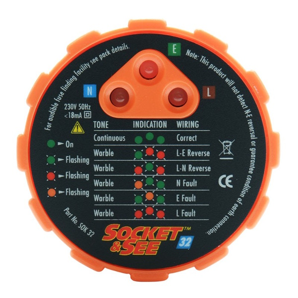 Socket and See SOK32 Socket Tester