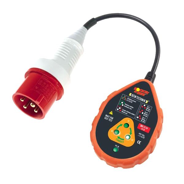 Socket & See SOK60 400V Industrial Socket Tester