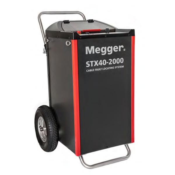 Megger STX40-2000 Portable Cable Fault Location System