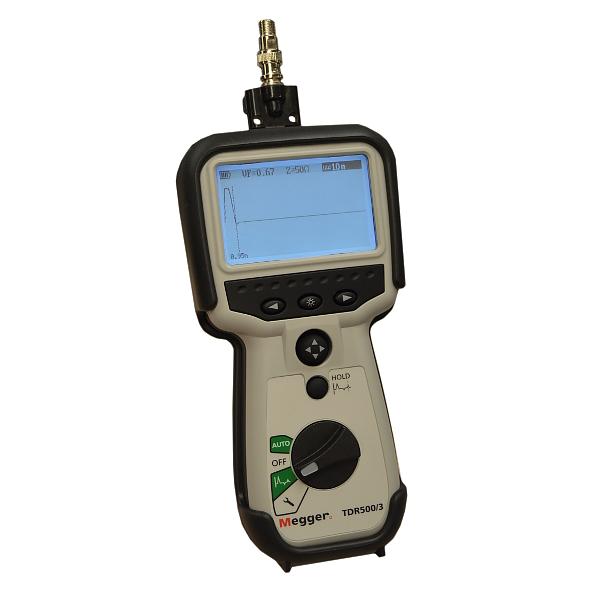 Megger TDR500/3 Basic Handheld Time Domain Reflectometer